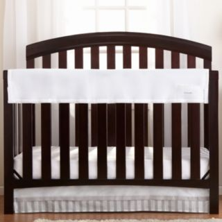 Breathable Baby RailGuard Mesh Crib Rail Cover
