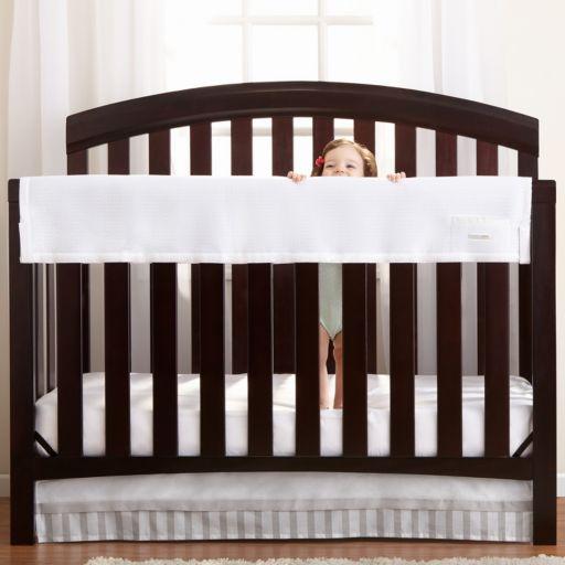 Breathable Baby RailGuard Mesh Crib Rail Cover