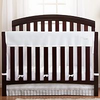 Breathable Baby RailGuard 2-in-1 Crib Rail Cover Liner