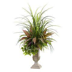 nearly natural Artificial Mixed Grass Arrangement