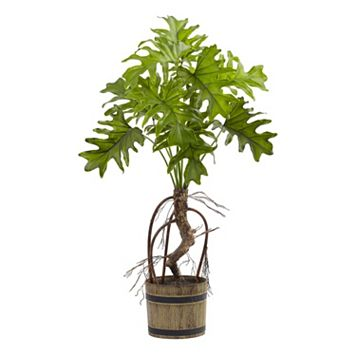 nearly natural Artificial Split Philo Plant