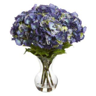 nearly natural Artificial Large Hydrangea Arrangement