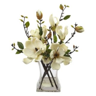 nearly natural Artificial Magnolia Arrangement