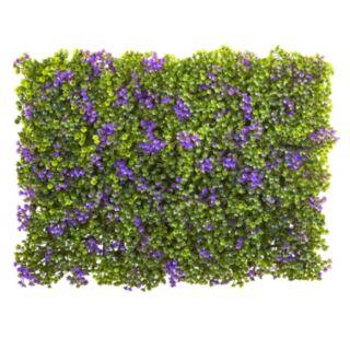 nearly natural Artificial Purple & Green Clover Mat 12-piece Set