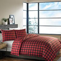 Eddie Bauer Mountain Plaid Duvet Cover Set