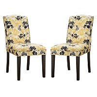 Madison Park Peyton Camel Back Dining Chair 2-piece Set