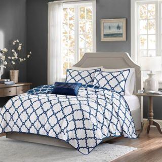 Madison Park Essentials Concord 4-piece Coverlet Set
