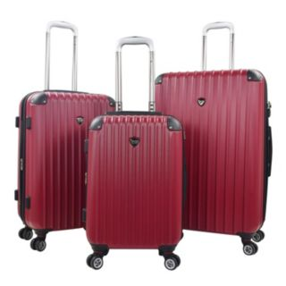 Travelers Club Chicago 2.0 Hardside 3-Piece Spinner Luggage Set