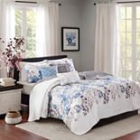 Madison Park Piper 6-piece Quilted Coverlet Set