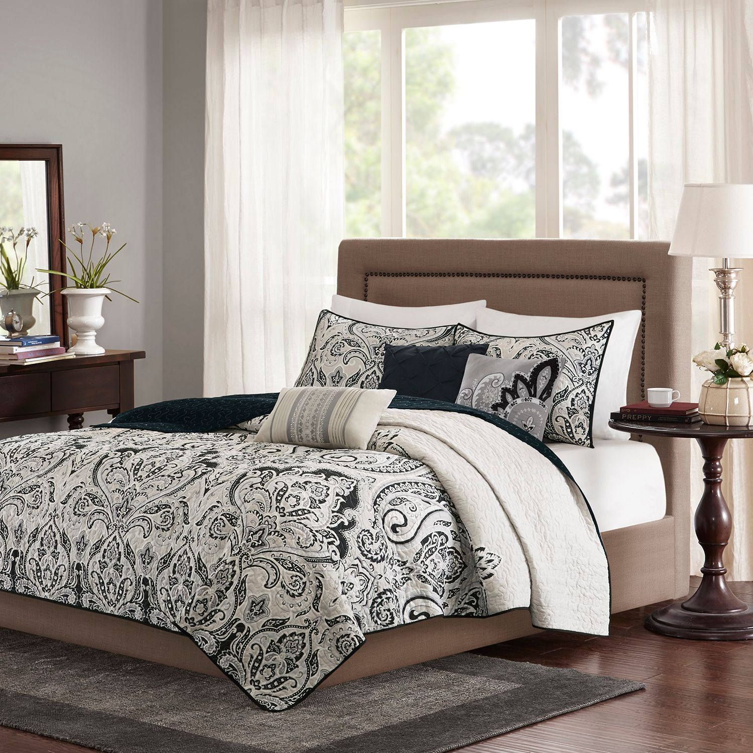 Madison Park Omega 6 Piece Quilted Coverlet Set