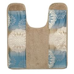 Popular Bath Fallon Banded Countour Rug