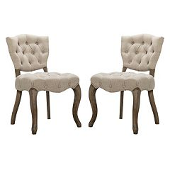 Madison Park Teigan Dining Chair 2-piece Set