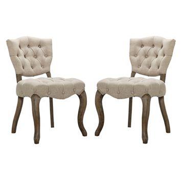 Madison Park Teigan Dining Chair 2-piece Set