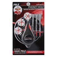 Dave Pelz 3 pc 17 in Phoney Golf Hole Set