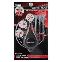 Dave Pelz 3-pc. 17-in. Phoney Golf Hole Set