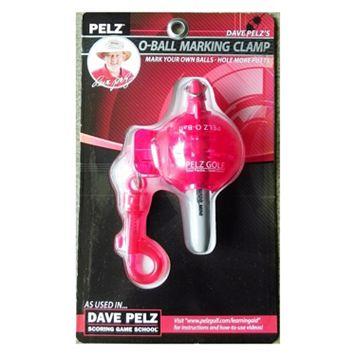 Dave Pelz Golf O-Ball Marking Clamp