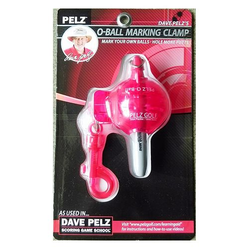 Dave Pelz Golf O-Ball Marking Clamp