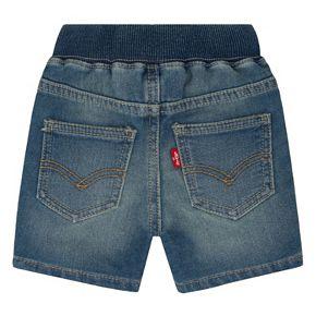 Baby Boy Levi's Denim-Like Shorts