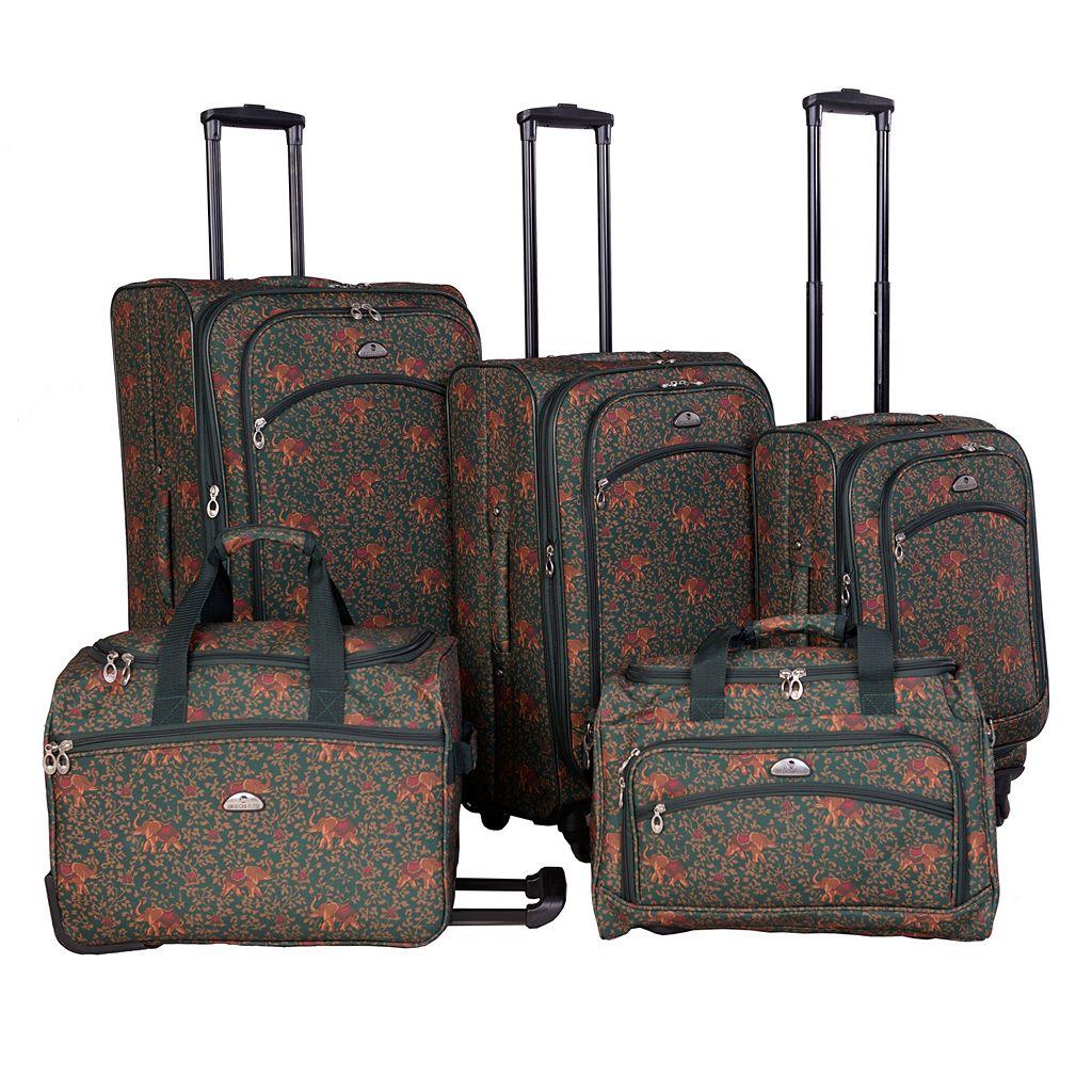 American Flyer Budapest 5-Piece Luggage Set