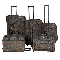American Flyer Budapest 5 pc Luggage Set