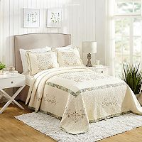 MaryJane's Home Vintage Treasure Bedspread