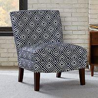 Madison Park Hayden Geometric Accent Chair