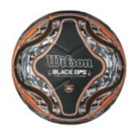 Youth Wilson Black Ops Soccer Ball