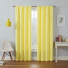 eclipse Thermaback Blackout 1-Panel MyScene Kendall Kids  Window Curtain