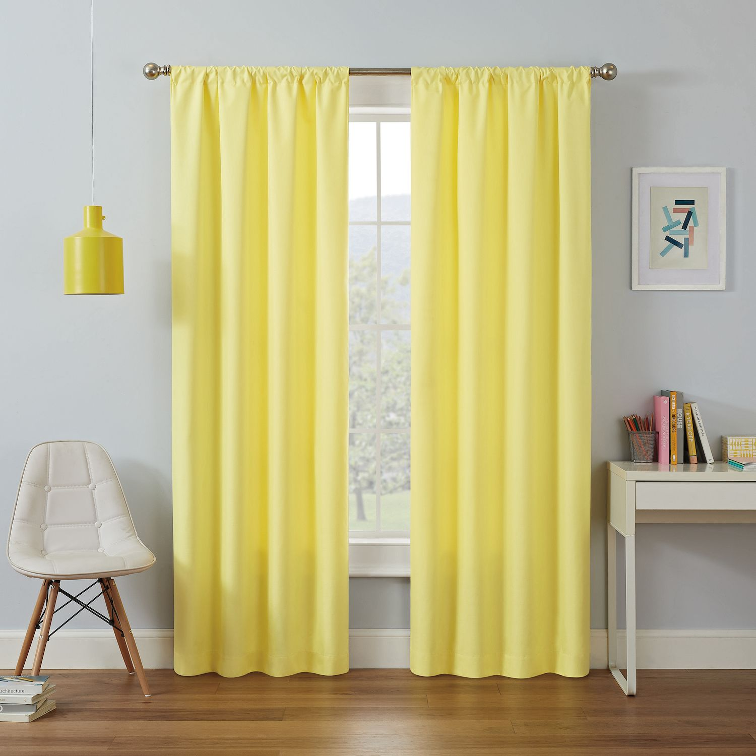 Superior Eclipse MyScene Kendall Kids Thermaback Blackout Window Curtain