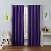 eclipse MyScene Kendall Kids Thermaback Blackout Window Curtain