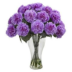 nearly natural Artificial Carnation Arrangement