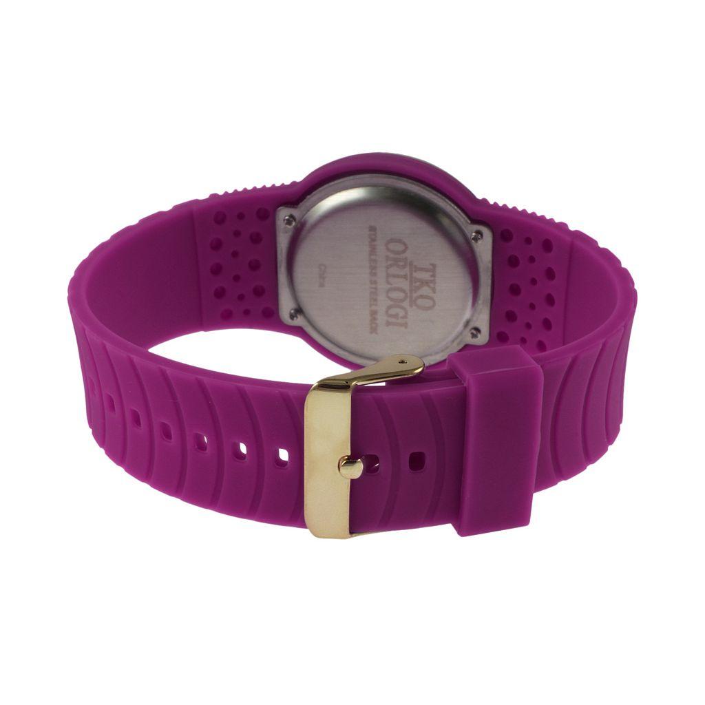TKO Orlogi Women's Crystal Touch Digital Watch