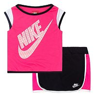 Toddler Girl Nike Colorblock Skort Set