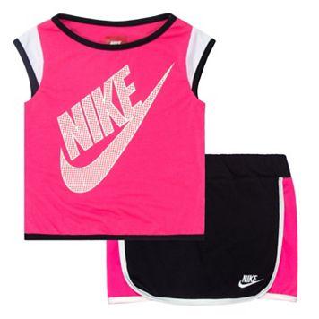 Toddler Girl Nike Colorblock Skort Set