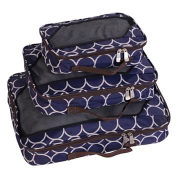 Jenni Chan Aria Park Ave 3-Piece Packing Cube Set