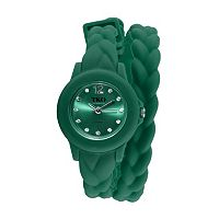 TKO Orlogi Women's Crystal Braided Wrap Watch