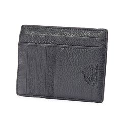Dopp SoHo RFID-Blocking Leather Slim Passport Wallet
