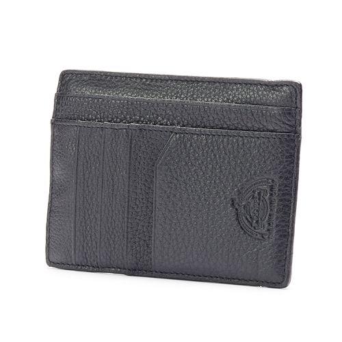 Dopp SoHo RFID-Blocking Leather Slim Passport Wallet