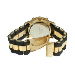 TKO Orlogi Women's Crystal Two Tone Watch