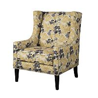 Madison Park Barton Print Accent Chair