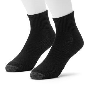 Men's GOLDTOE Soleution Golf Quarter Socks