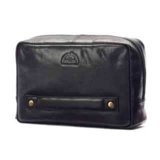 Dopp Carson Leather Carry-On Kit