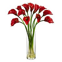 nearly natural Artificial Calla Lilly Arrangement