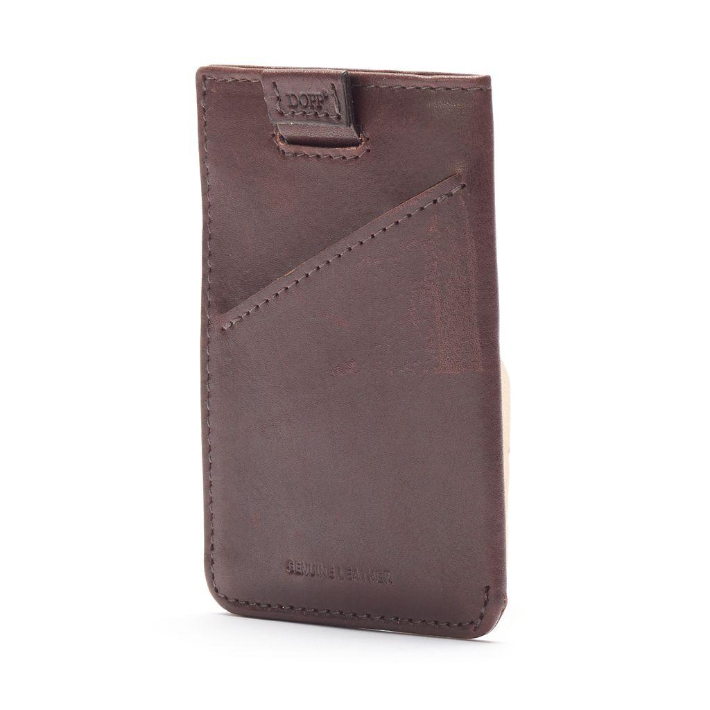 Dopp Carson RFID-Blocking Leather Front-Pocket Wallet