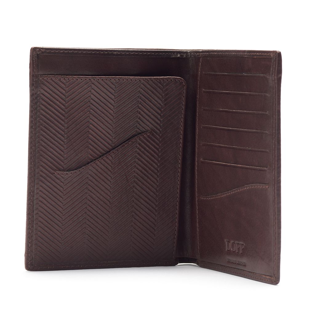 Dopp Carson RFID-Blocking Leather Travel Wallet