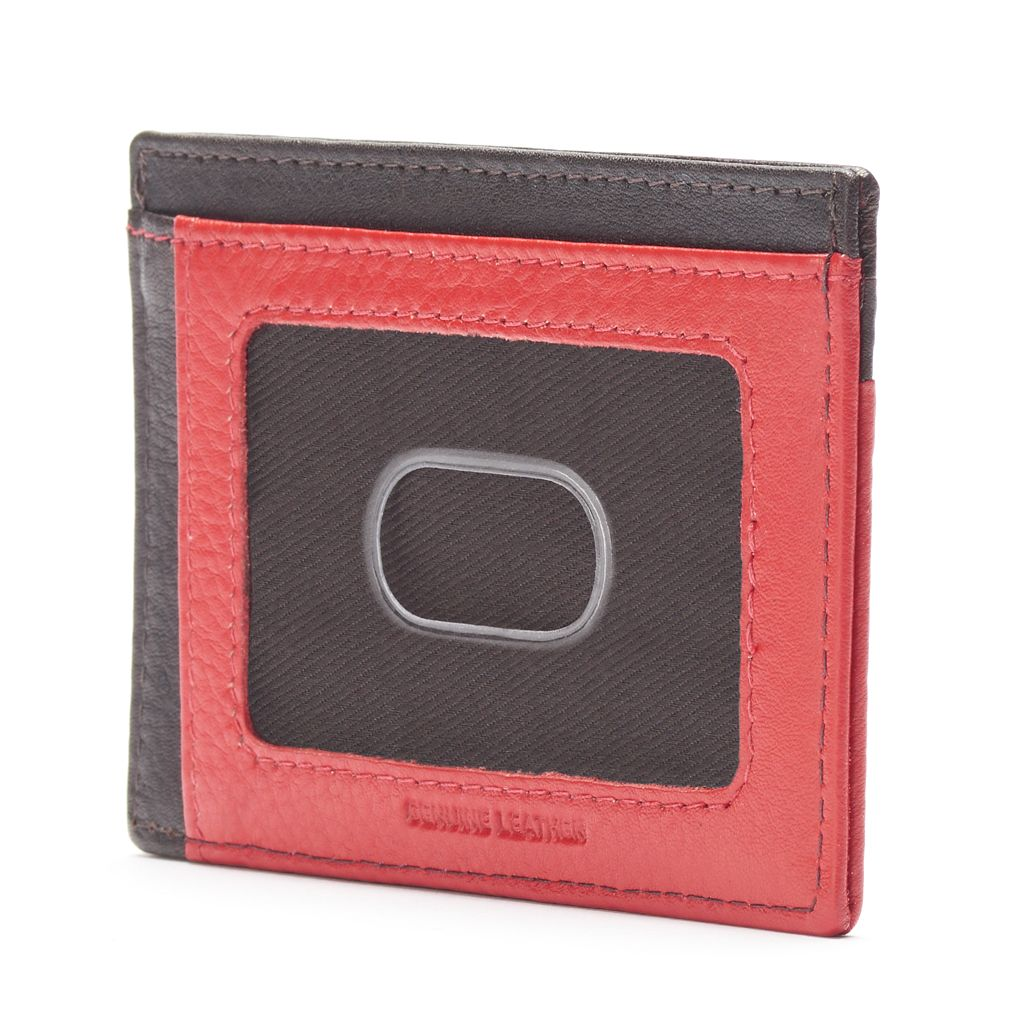 Dopp Tribeca RFID-Blocking Leather Front-Pocket Wallet