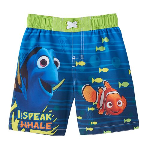 9c81ee4c55 Disney / Pixar Finding Nemo Baby Boy Swim Trunks