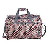 Jenni Chan Tiles City Duffel Bag