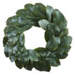 nearly natural Artificial Magnolia Leaf Wreath