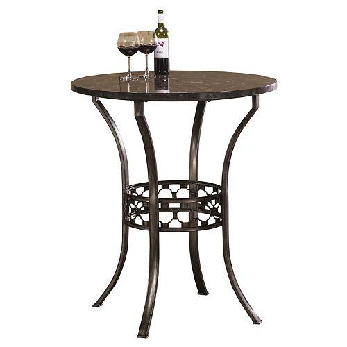 Hillsdale Furniture Brescello Bistro Dining Table